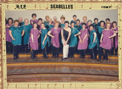 Old Sea Belles Photos- 1987 AC&C with Director Irene Goddard